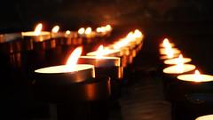 Candles (david_m.hn) Tags: kerze candle licht light kloster monastery church kirch religion deutschland germany badenwürttemberg bokeh
