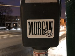 MORGAN (billy craven) Tags: chicago graffiti stickergame nswb fym kym morgan