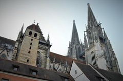 Regensburg - St Peter Cathedral (Hédel) Tags: regensburg ratisbona church catherdral catedral sv peter san pedro gótico gothic historical