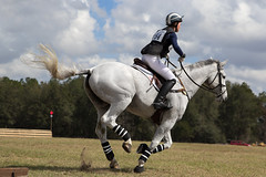 cross-country snapshot (Tackshots) Tags: eventing horsetrials ocala horse riding rider crosscountry