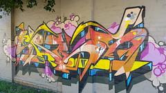 Sabeth... (colourourcity) Tags: streetartaustralia streetartnow streetart graffiti melbourne burncity awesome colourourcity nofilters letters burners burner colourourcitymelbourne sabeth sabs siloet s4be7h