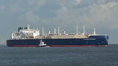 VLADIMIR RUSANOV (Jakez Bo) Tags: lng tanker ship vessel méthanier navire