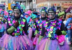 Eschweiler, Carnival 2018, 089 (Andy von der Wurm) Tags: karneval kostüm costume carnival mardigrass eschweiler 2018 kostüme kostueme nrw nordrheinwestfalen northrhinewestfalia germany deutschland allemagne alemania europa europe female male girl teenager smiling smile lachen lächeln lustforlife groove portrait lebensfreude verkleidung verkleidet dressed bunt colorful colourful karnevalsumzug karnevalszug carnivalparade andyvonderwurm andreasfucke hobbyphotograph funkenmarie funkenmariechen