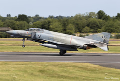 Hellenic Air Force F-4E AUP Phantom II 01618 (birrlad) Tags: fairford ffd raf riat royal international air tattoo airshow aircraft aviation airport airbase display taxi taxiway takeoff departing departure runway hellenic force f4e aup phantom ii mcdonnell douglas f4 fighter attack combat jet 01618 greece greek