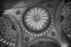 Sultan Ahmed Mosque (ExceptEuropa) Tags: bluemosque canon6d istanbul sultanahmedmosque turkey analog architecture bw blackwhite canon cinematic city color culture downtown explore historic history itscd monochrome monotone passingby people photographer photography somewhere stranger street streetphotography tradition travel urban beyoğlu tr