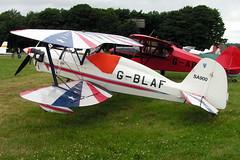 G-BLAF Stolp SA.900 V-Star [PFA 106-10651] Kemble~G 02/07/2005 (raybarber2) Tags: approachtodo biplane cnpfa10610651 egbp flickr gblaf johnboardleycollection pfa10610651 single ukcivil