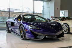 2018 McLaren 570S Spider (Rivitography) Tags: 2018 mclaren 570s spider convertible roadster rare exotic fast car supercar expensive luxury british greenwich connecticut canon lightroom rivitography