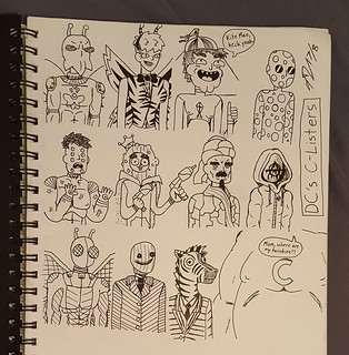 DC C-list doodles i never posted