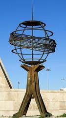 #4553 armillary sphere astrolabe (Nemo's great uncle) Tags: padrãodosdescobrimentos monumentofthediscoveries monument tagusriversanta maria de belémlisbonportuguese age discoveryage exploration アーミラリ天球儀armillarysphere astrolabe アストロラーベ