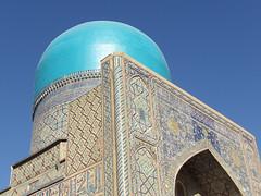 Des mosquées à n'en plus finir (Histoires de tongs) Tags: uzbekistan ouzbékistan tourdumonde travel trip roundtheworld adventure aventure voyage architecture découverte discover visite visit