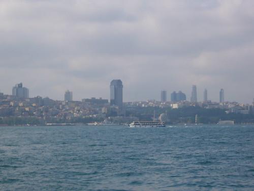 Istanbul, Besiktas from Kadikoy ferry [12.06.2011]