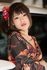 TAS2018 (byzanceblue) Tags: d850 nikkor tas2018 tokyoautosalon woman girl model female beautiful sexy bokeh