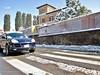 Giornata da suv (ioriogiovanni10) Tags: passeggiata canon bellagiornata blu cayenne porschecayenne strada rome street snow roma porsche jeep suv febbraio