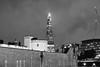 Shard and Tower of London (Bonngasse20) Tags: london shard toweroflondon monochrome
