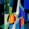 2011_slika_plexi _zrcaljenja_Peter_Ciuha (peter.ciuha) Tags: paintings acrylic glass plexi canvas peter ciuha hanji paper kozo tak illuminated