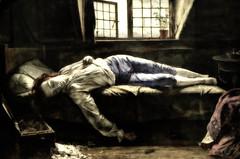 Picture of Painting - Death of Chatterton (☺dannicamra☺) Tags: nikon d5100 gb painting malerei henrywallis old paint museum gemälde chatterton art kunst london uk