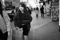 Hongdae street vibes (postboxes) Tags: seoul people girl korean