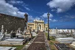 San Juan Cemetery (Brook-Ward) Tags: hdr brook ward old san juan puerto rico