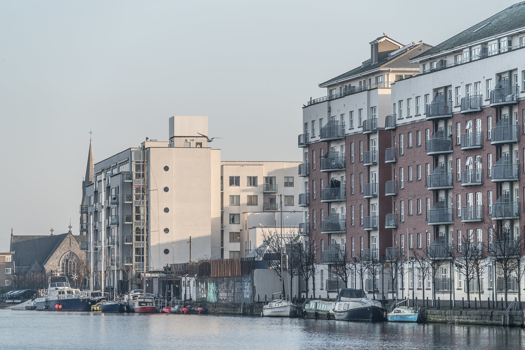 GRAND CANAL DOCK AREA OF DUBLIN [PHOTOGRAPHED 11 JANUARY 2018]-135450