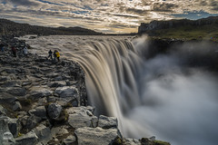 Dettifoss (kenneth chin) Tags: mountain 2470f28g dettifoss nikon d810 nikkor nisi filter iceland cloud waterfall flow yahoo google rock landscape