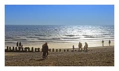 Beach Life (Myrialejean) Tags: beach fun play water sea coast coastal bridlington eastriding eastcoast yorkshire sand winter sky north people outdoors waves