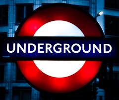 Underground (Jim Nix / Nomadic Pursuits) Tags: england europe jimnix lightroom london luminar2018 macphun nomadicpursuits skylum sony sonya7ii thetube uk underground unitedkingdom famous sign subway travel