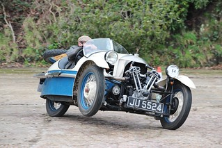 Vintage Sports Car Club Driving Tests at Brooklands Museum 28th January 2018