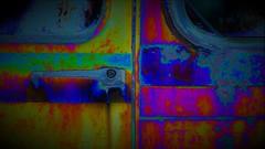 triple (yakkay43) Tags: triple verdreifachentriple trebleadjektivdreifachtriple treble threefold ternary triplexdreimaligtriple abstract outdoor colour chaos new car old oldtimer craft artistry yellow adventurous blue art red abstrakt lifestyle