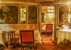 Laperouse 1766-2 (albyn.davis) Tags: paris france europe restaurant tables interior historic chairs light lamps travel vacation colors gold laperouse elegance hdr