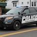 Warren Ohio Police Ford Police Interceptor Utility