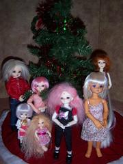 100_4861 (EilonwyG) Tags: abjd bjd christmas cherishdoll allyuni lanihob unicorn serendipity agafairy candy bambicrony gun elfroko cerberusproject cp fairyland pukipuki puki pipi soom minigem uyooelf