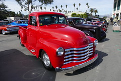 saturday drive in 84 (bballchico) Tags: 1948 chevrolet pickuptruck gnrs2018 saturdaydrivein carshow