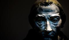 Busts (relishedmonkey) Tags: nikon d5300 bust art statue sculpture colour 35mm 18g lighting dark moody old vintage classic louvre abu dhabi uae