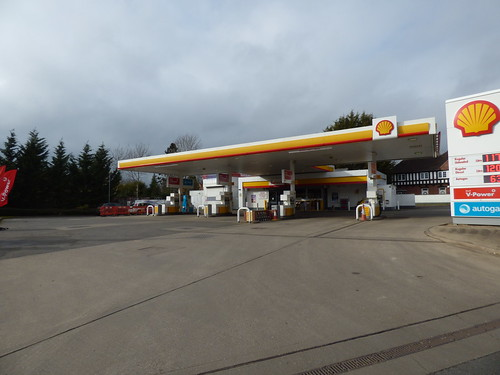 Shell petrol station - Kenilworth Road, Balsall Common