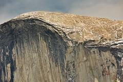 Top of Half Dome (jimkerr1961) Tags: yosemitenationalpark halfdome upperyosemitefalls granite flare tunnelview