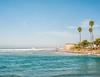 meet me at the palms (Keegan L) Tags: plaubel makina 120 120mm film analog portra california sandiego beach ocean waves palms