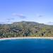 Luftbild vom Anse Intendance Strand Mahe Seychellen