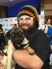 LBCE2018_01 (willdleeesq) Tags: cosplay cosplayer cosplayers lbce lbce2018 longbeachcomicexpo longbeachcomicexpo2018 dog pug