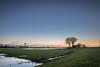 Aan de Maas (peter_1891) Tags: canon 600d sigma 1750mm photo sky night light grass tree bridge nederland heusden heusdensebrug brug blue green