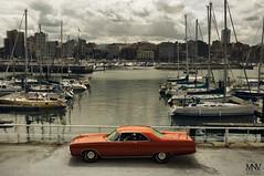 Chrysler 300 (Mario N.V. Photography) Tags: chrysler 300 1969 gijon asturias mario nosti viña mnv automotive photography mopar dodge plymouth xixon puerto deportivo paraiso natural muelle cuesta cholo muscle car american yankee coche americano classic clasico