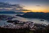 Ploče sunset (bilusickr) Tags: sunset ploče croatia neretva dalmatia adriatic city cityscape sea blue orange travel balkan europe