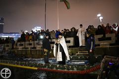 Чин Великого освящения воды на реке Свислочь