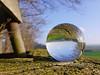 the world is a disc (Ein Blickfänger) Tags: glaskugel sphäre sphere glasssphere landschaft landscape natur nature spring frühling ressort primavera campagna campagne