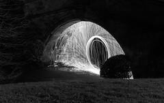 Port Sunlight Steel Wool (Rachael Webster UK) Tags: steelwoolphotography longexposure longexposurephotography portsunlight wirral night nightphotography canon canon650d