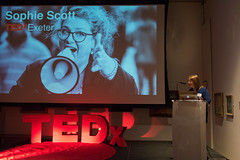 TEDxExeter organiser Claire Kennedy introducing the speakers at the TEDxExeter 2018 launch event at Royal Albert Memorial Museum (TEDxExeter) Tags: exeter tedxexeter tedx tedtalks exetercity devon ramm royalalbertmemorialmuseum technology entertainment design innovation speakers audience tedxexeter2018 tedxexeter2018launch tedxexeterlaunch sponsors crowd 2018 england eng
