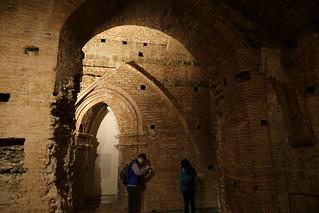 Baptistry Cryp of  Siena Duomo