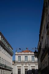 Lisbon (Caró) Tags: lisboa lisbon portugal europa europe euro eu ue outdoors outdoor street candid city cidade ciudad ciutat urban urbano sun sunny verão verano sommer summer chiado armazénsdochiado céu sky blue azul