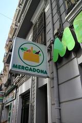 Mercadona (Nina Ding) Tags: frankfurter streettypography mercadona valencia spain ruzafa letraset logotipo