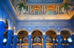 Library+of+Congress+%7E+Grand+Lobby+Ceiling+%7E+Washington+DC.