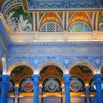 Library of Congress ~ Grand Lobby Ceiling ~ Washington DC. thumbnail